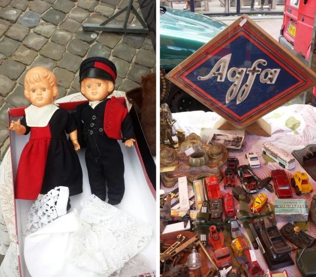 Gouds Montmartre Agfa antiekmarkt