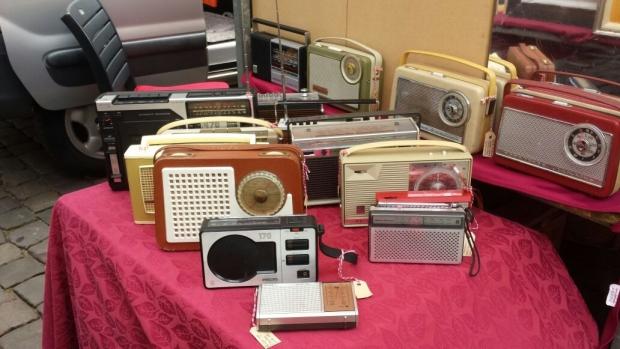 Gouds Montmartre antieke radio's