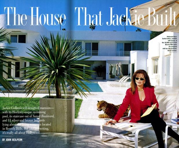 Jackie Collins huis