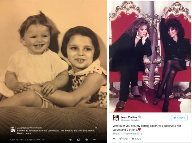 Joan Collins Instagram