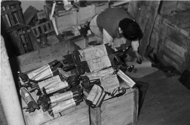 Gestolen gereedschappen oorlog nazi's