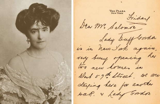 Titanic brief Lady Duff Gordon