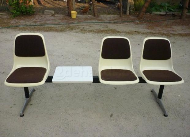 Wachtkamer stoelen 1980 tweedehands