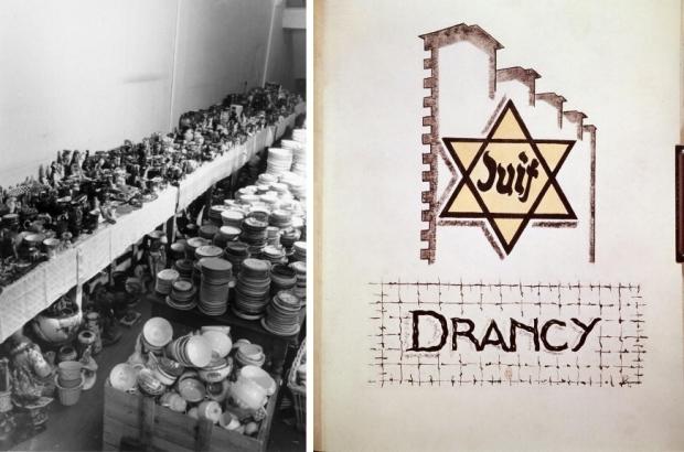 Warenhuis Parijs Joden oorlog Drancy