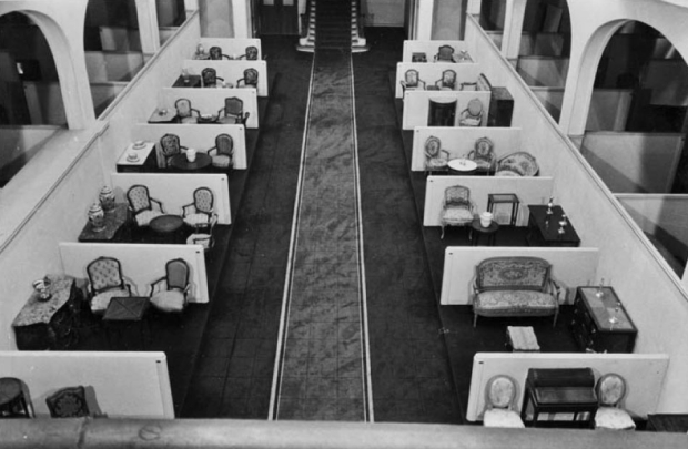 Warenhuis nazi's meubels
