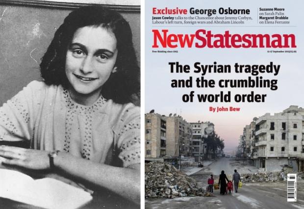 Syrië kapot oorlog Anne Frank go with the vlo