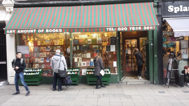 Any Amount of Books London boekhandel Londen antiquariaat go with the vlo