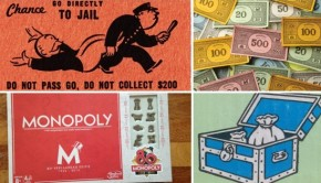 Go with the Vlo monopoly bordspel