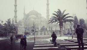 Oud en toch nieuw: Istanbul in de sneeuw