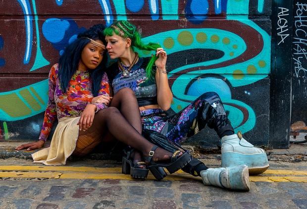 East End Fashionistas Anthony Webb mode straat vintage
