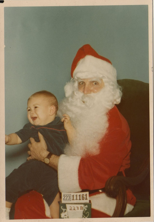 Enge kerstmannen griezelen horror grappig enge ogen