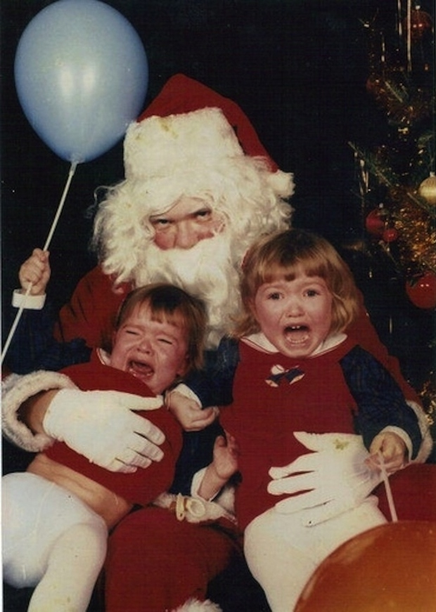 Enge kerstmannen horror griezelen