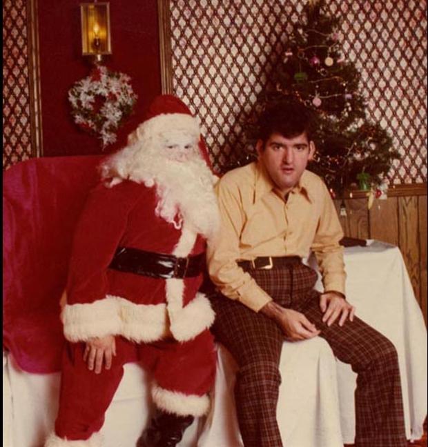 Enge kerstmannen seriemoordenaar horror