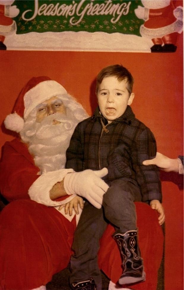 Enge kerstmannen stoned griezelen horror