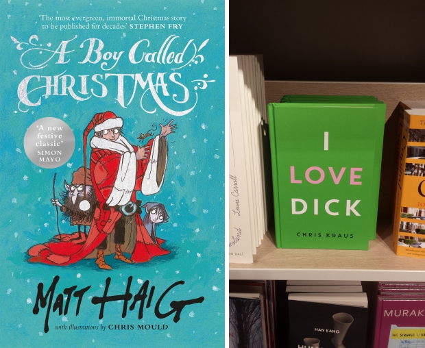 Foyles boekhandel boeken Londen A boy called Christmas