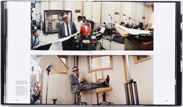 Frank Sinatra boek studio opnames