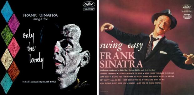 Frank Sinatra platen rommelmarkt Only the Lonely
