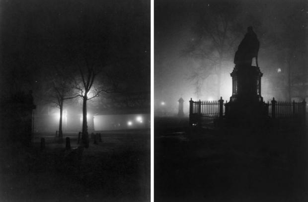 Hofplein bij nacht 1912 Henri Berssenbrugge go with the vlo 2