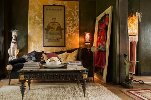 Hotel 40 Winks Londen boudoir vintage antiek