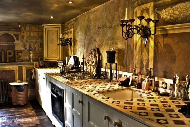 Hotel 40 Winks Londen keuken vintage