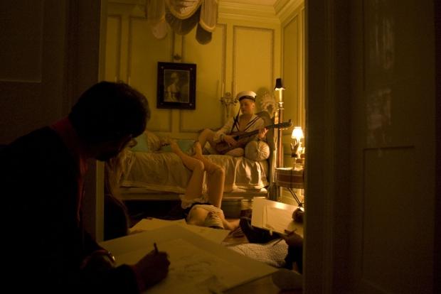 Hotel 40 Winks slaapkamer matroos Londen vintage sfeer go with the vlo