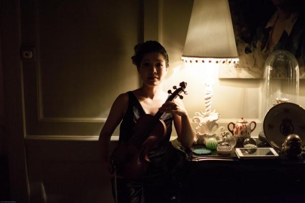 Hotel 40 Winks viool vintage kastje Londen go with the vlo