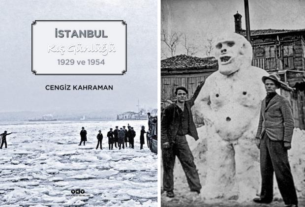 Istanbul Kis Gunlugu boek sneeuw
