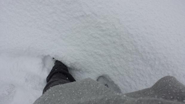 Istanbul voeten sneeuw diep copyright Danny Post