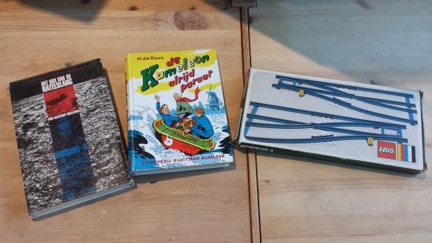 Kringloop Restore Lego Kameleon boeken speelgoed