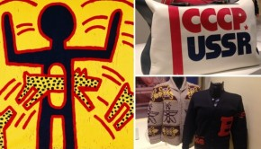 Kunsthal Go with the Vlo Keith Haring Butterfield USSR