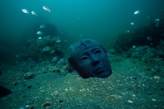 ABOUI_CG040 Canopus en Heracleion Franck Goddio go with the vlo Egypte