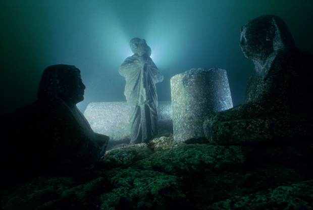 ALEX98 CG113_RGB Canopus en Heracleion Franck Goddio go with the vlo Egypte