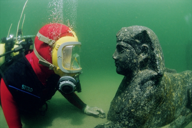 ALEX_JD_049 Canopus en Heracleion Franck Goddio go with the vlo Egypte