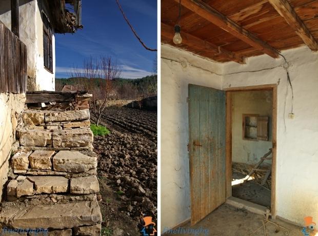 Opknappertje Bulgarije cottage tuin en deur go with the vlo