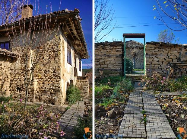Opknappertje Bulgarije cottage tuin treden go with the vlo
