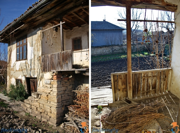 Opknappertje cottage Bulgarije balkon en tuin wonen go with the vlo