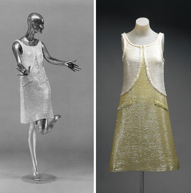 The Met André Courrèges jurken go with the vlo
