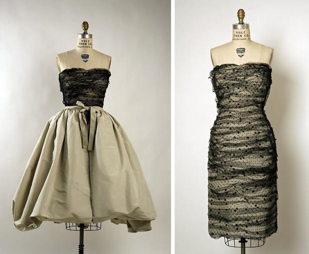 The Met Balenciaga jurken go with the vlo