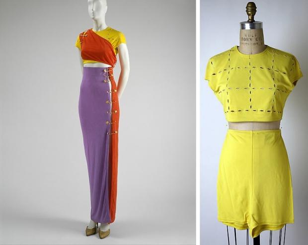 The Met Versace jurken go with the vlo