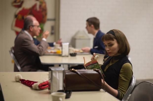 Carol Rooney Mara boek lezen go with the vlo