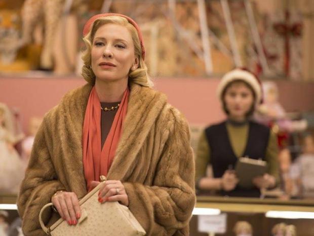Carol film Cate Blanchett Rooney Mara warenhuis lesbische liefde go with the vlo