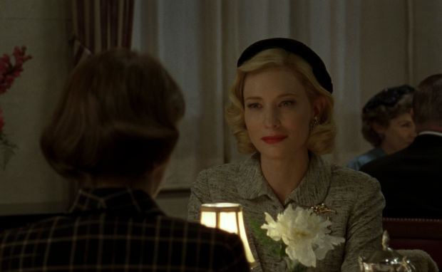 Carol restaurant Cate Blanchett actrice go with the vlo