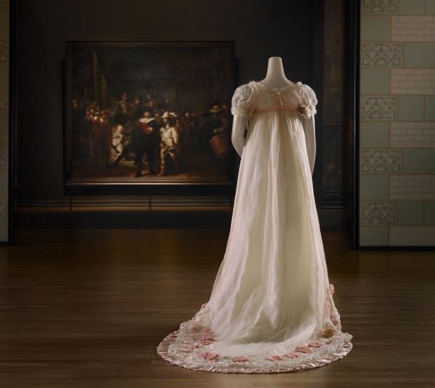 Catwalk expositie Nachtwacht jurk go with the vlo
