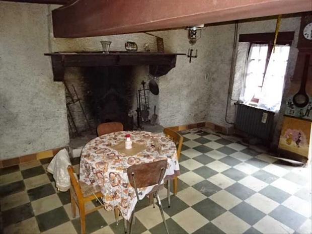 Frankrijk Aveyron huis te koop keuken Valentijnsdag go with the vlo