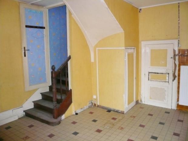 Frankrijk Valentijnsdag gele muren huis te koop Couterne go with the vlo