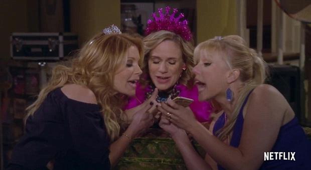 Full House vervolg serie Olsen Twins Netflix go with the vlo