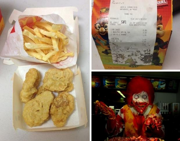 McDonald's zes jaar Happy Meal smerig chemisch go with the vlo