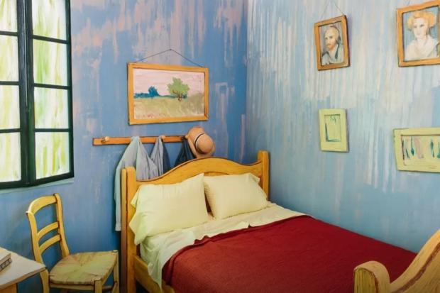 Overnachten in een schilderij Vincent van Gogh