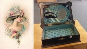 Schoonheid in een antiek kistje