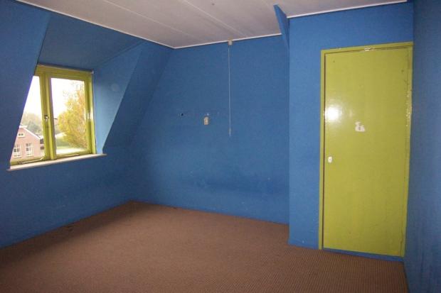 Nieuwe Pekela slaapkamer blauw pastoriewoning go with the vlo